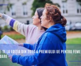 Înscrie-te la ediția din 2020 a Premiului UE pentru Femeile Inovatoare